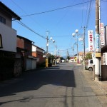 武蔵嵐山駅前