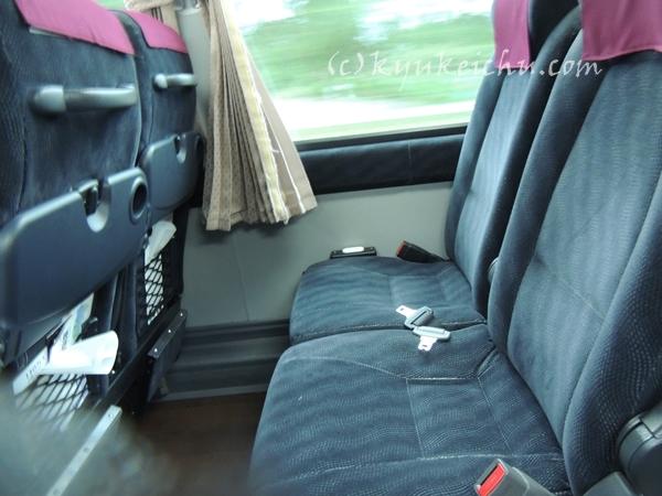 アルピコ交通座席