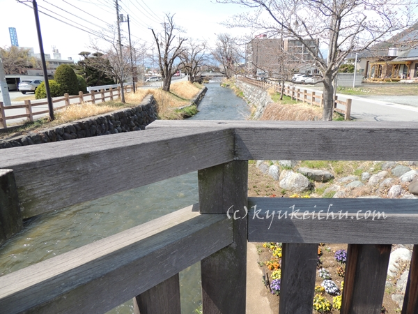 橋の上からの眺め