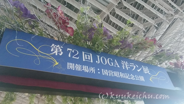 JOGA主催の立川ラン展72回目