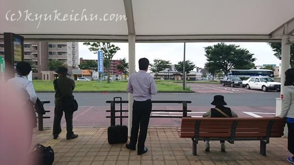 JR君津駅前バスターミナル