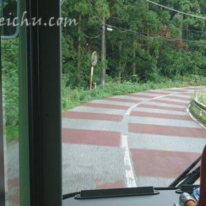 マザー牧場直行バスに乗る