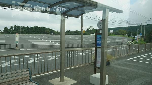 帰りのバス停確認