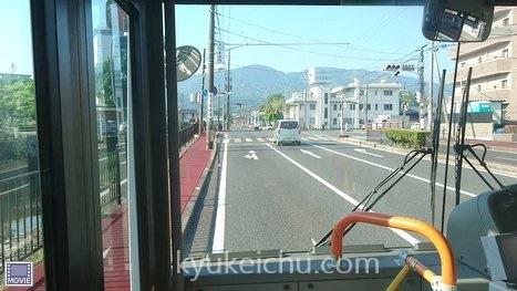 2017年5月伊勢市から内宮へバス移動中