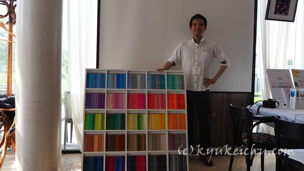 500色の色鉛筆 TOKYO SEEDS