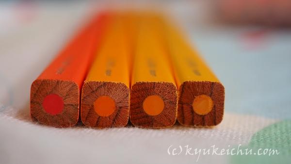 四角い色鉛筆