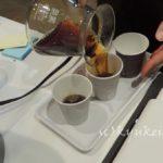 澄んだコーヒー液