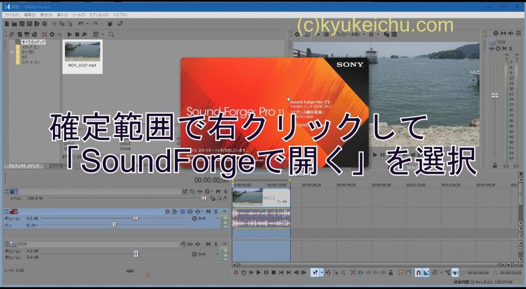 soundforge起動